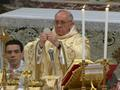 News video: Raw: New Pope Celebrates Mass in St Peter's